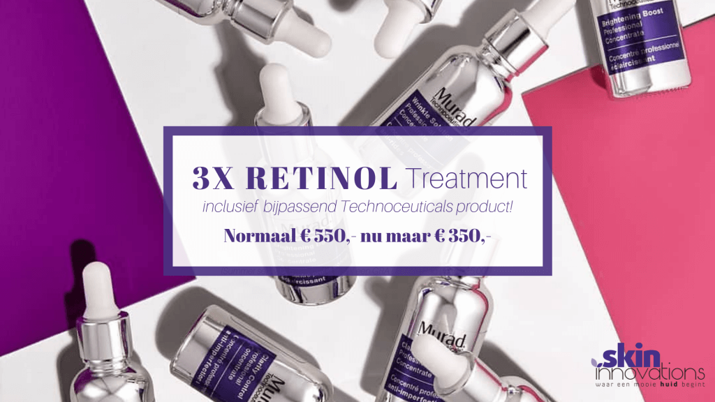 3x Retinol Treatment incl. Technoceutical!